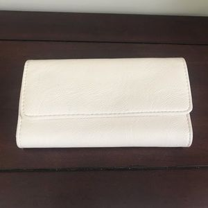 Handbags - Safe Keeper Cream Wallet
